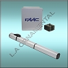 FAAC S450H 24v Hydraulic Basic Single Swing Gate Kit Includes 1 S450H CBC 14X16 Enclosure With E024U Control Board